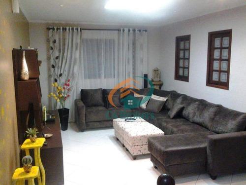 Imagem 1 de 20 de Sobrado Com 3 Dormitórios À Venda, 244 M² Por R$ 750.000,00 - Vila Aliança - Guarulhos/sp - So0089
