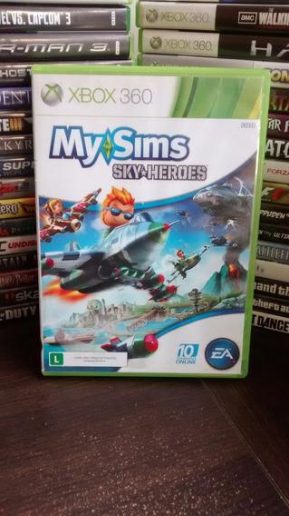 My Sims Sky Heroes Xbox 360 Envio Imediato Frete R$ 12