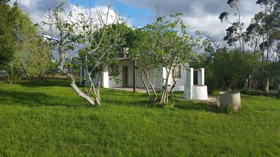 Chacra De 3 Hectareas Con Casa A 1.5 Kmtr De Ruta 36 .