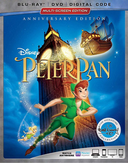 Blu-ray + Dvd Peter Pan (1953) Signature Collection