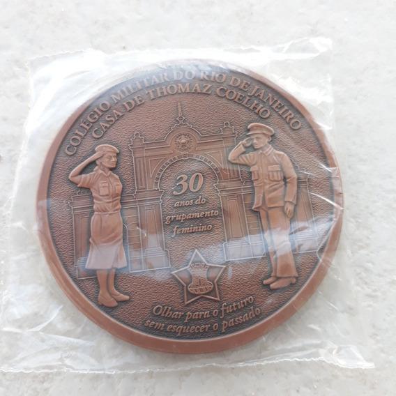 Medalha Colégio Militar Rj - 130 Anos (gg50107)