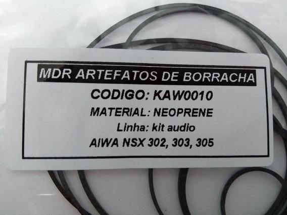 Kit Correias Som Aiwa Nsx 302,303,305