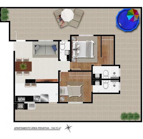 Imagem 1 de 7 de Apartamento Com Área Privativa À Venda, 2 Quartos, 2 Suítes, 2 Vagas, Santa Efigenia - Belo Horizonte/mg - 2349