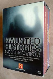 Haunted Histories History Channel 5 Dvd Boxset Terror Usa