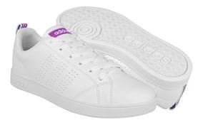 Tenis Casuales adidas Para Mujer Simipiel Purple Bb9616