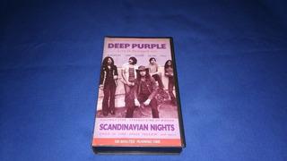 Deep Purple -scandinavian Nights,1972 (vhs)
