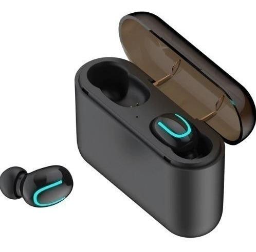 Fone De Ouvido Sem Fio Bluetooth Dual Tws Com Powerbank