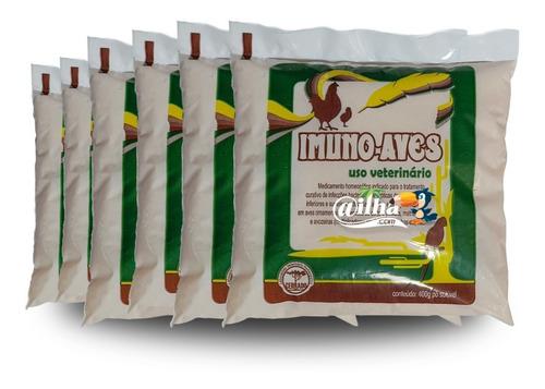 Imuno-aves: Tratar E Prevenir Infecções Em Aves (2,4kg)