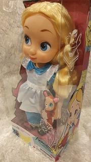 Muñeca Animador Alicia Nueva Original De Disney Store Colec