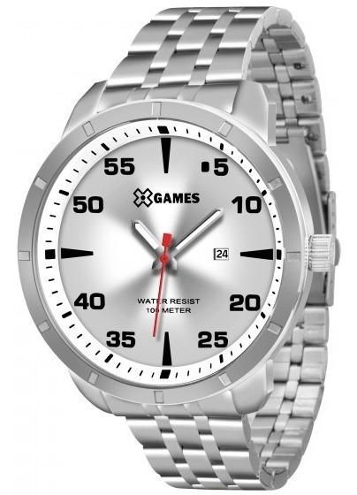 Relógio Xgames Xmss1033 S2sx Prata Redondo Aço - Refinado