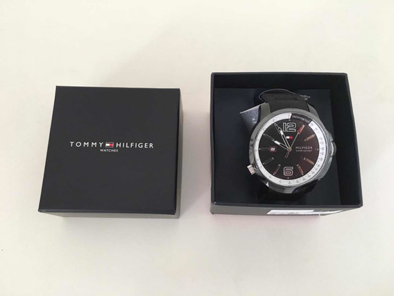 Relógio Masculino Tommy Hilfiger Pulseira De Borracha