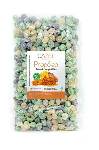 Perlas Mixtas De Própoleo Y Clorofila Oaxaca Natural 500g