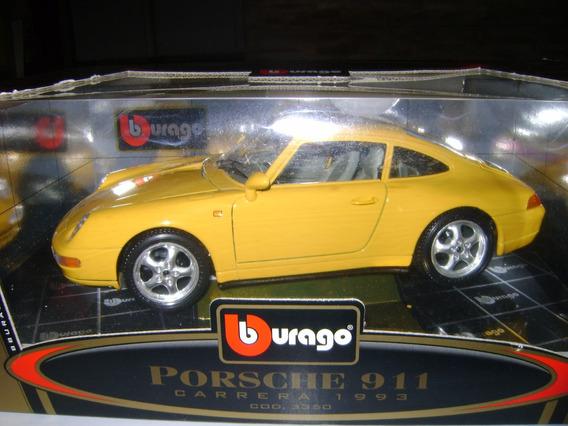 Porsche 911 Carrera 1993 Escala 1:18 Burago