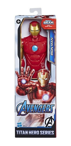 Avengers Vingadores Boneco 30cm Homem De Ferro Hasbro E7873