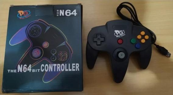 Controle Nintendo 64 Usb Joystick Pc Notebook