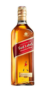 Whisky Red Label 1 Litro - C/nota Fiscal
