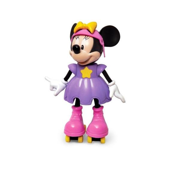 Boneca Minnie Disney C/ Som Patins E Capacete - Elka