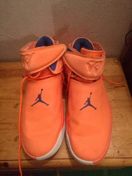 Zapatillas Jordan Why Not 0 , Numero 43 Color Naranjas Fluor