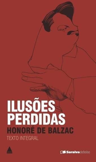 Livro Bolso Ilusões Perdidas Honoré De Balzac Frete Barato