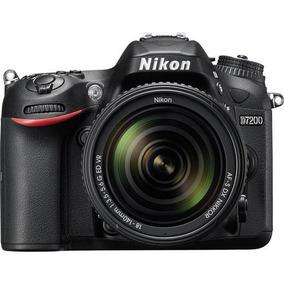 Câmera Nikon D7200 Dslr C/ Lente 18-140mm F/ 3.5-5.6g Vr+ Nf