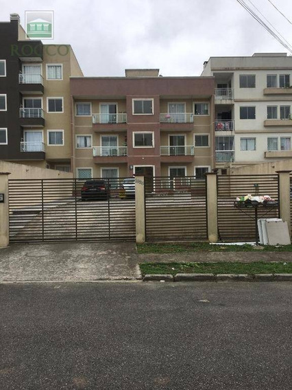 Apartamento Com 3 Quartos Para Alugar, 60 M² Por R$ 550/mês Afonso Pena - São José Dos Pinhais/pr - Ap0449