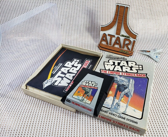 Star Wars Empire Strikes Back [ Atari 2600 Cib] Caixa Manual