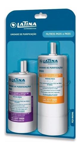 Refil Duplo Pa735 Para Purificadores De Água Latina