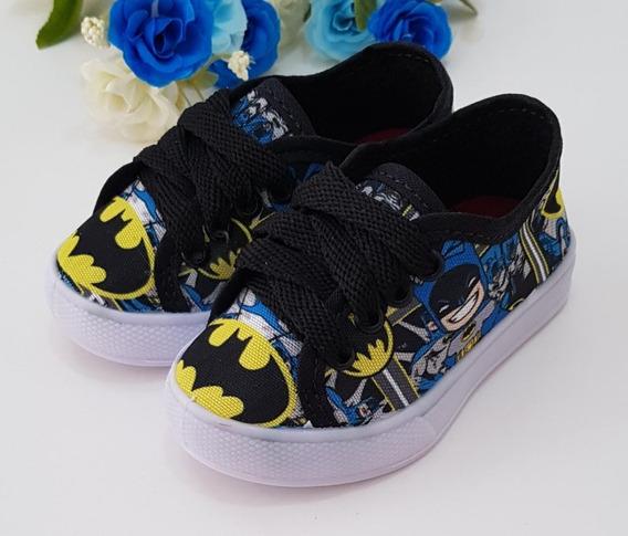 Tenis Infantil Batman Baby Menino
