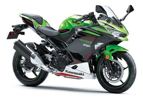 Kawasaki Ninja 400 Verde Krt Abs 0km Linha 2021 | 9
