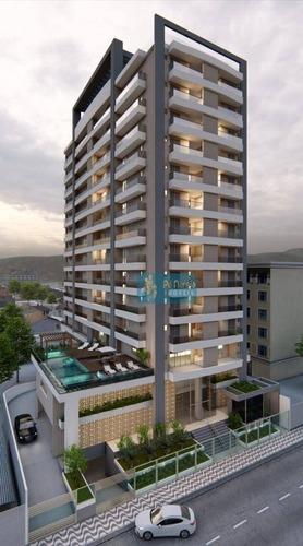 Imagem 1 de 24 de Apartamento Com 2 Dormitórios À Venda, 61 M² Por R$ 360.000 - Boqueirão - Praia Grande/sp - Ap0969