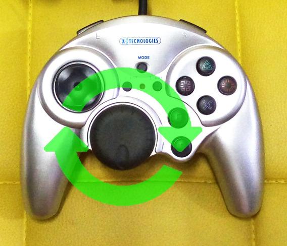 Playstation 2 Controle Racing Shock 2 Item Raríssimo