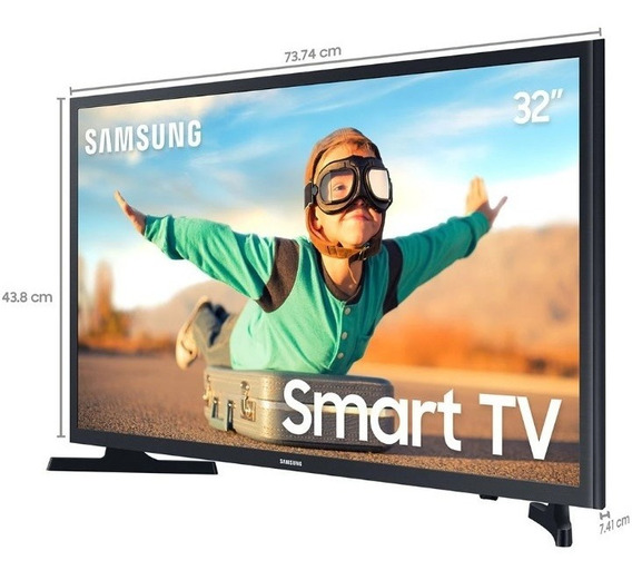 Smart Tv Led 32 Samsung Un32t4300agxzd
