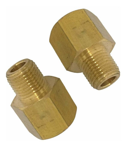 Brass Pipe Adapter  Npt Male X  Bspp Female Pcs