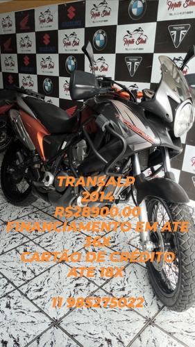 Honda Xl 700v Transalp. 2014. Financio Em Ate 48x