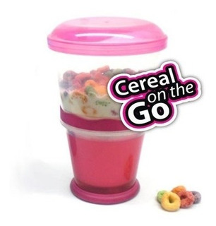 Contenedor Cereal On The Go Rosa Good And Good