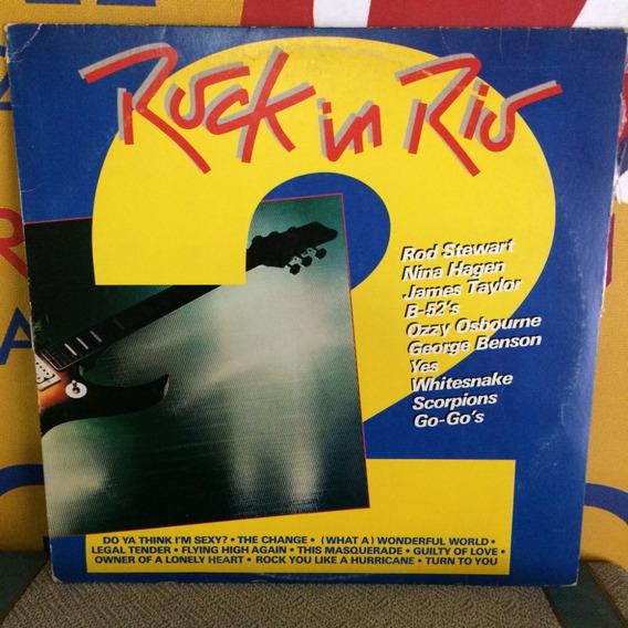 Rock In Rio - Ozzy B-52 Hagen Whitesnake Yes Lp Vinilo