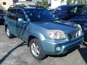 Nissan X-trail Full 4x4 Verde 2003 Interior En Piel Sunroof
