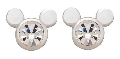 Brinco Disney Mickey - Prata