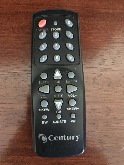 Controle Original Do Receptor Century Super Color - Original
