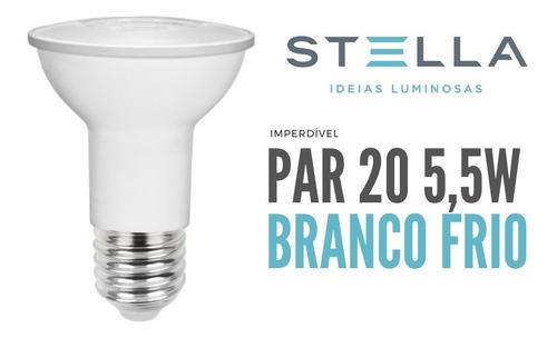Lampada Par 20 Stella 5,5w 6500k Branco Frio - Sth9020/65