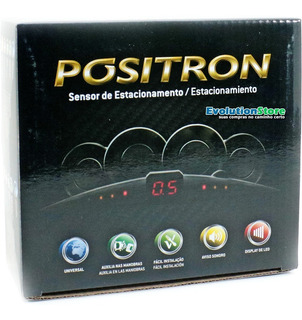 Sensor De Ré Estacionamento Pósitron 4 Pontos Ps210