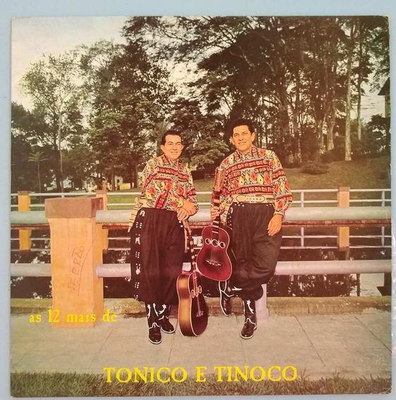 Lp As 12 Mais De Tonico E Tinoco 1968