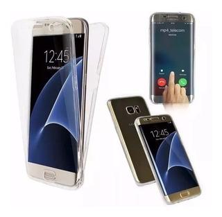 Capa Capinha Case Frente E Verso 360 Galaxy S6 S7 S8 S9 S10 J5 J7 J4 J6 J8 A10 A20 A30 A50 M10 M20 M30 Plus Prime Pro
