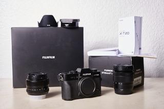 Fujifilm Xt20 Y 16-50mm Con Cajas!