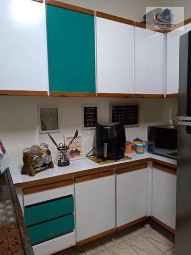 Imagem 1 de 30 de Apartamento Com 3 Dormitórios À Venda, 124 M² Por R$ 480.000,00 - Jardim Chácara Inglesa - São Bernardo Do Campo/sp - Ap0808