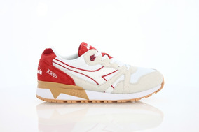 Tenis Diadora N9000 Iii Red Capital 25.5