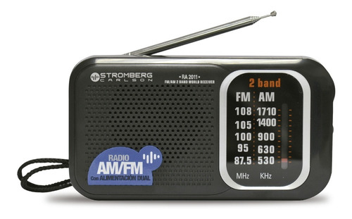 Radio Analogica Am Fm Portatil Stromberg