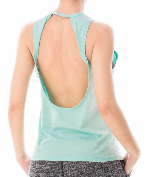 Musculosa Silk Spark Touche Sport Deportiva Mujer Gym Remera