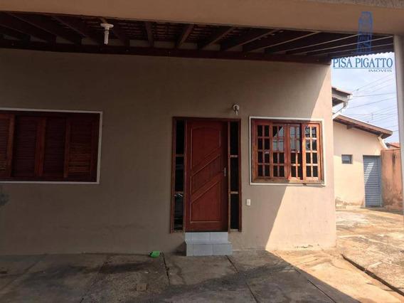 Casa Com 2 Dormitórios À Venda Por R$ 280.000 - Vila Monte Alegre Ii - Paulínia/sp - Ca2136