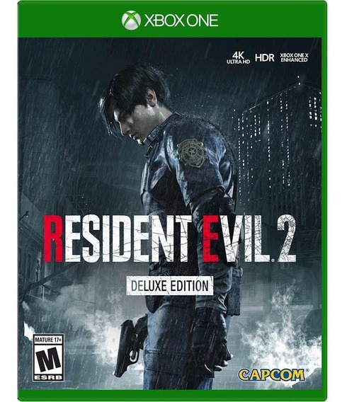 Resident Evil 2 Deluxe Edition Xbox One 25 Digitos